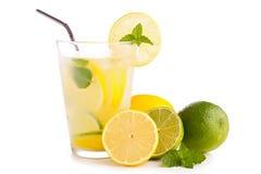 柠檬水或mojito 图库摄影