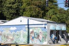 柠檬水摊艺术演播室在基韦斯特岛 免版税库存图片