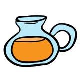 柠檬水水罐 免版税库存图片