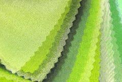 柠檬绿透明硬沙 库存照片