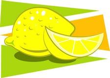 柠檬 向量例证