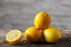 柠檬 免版税库存照片