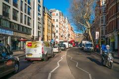 查令十字路,伦敦英国 图库摄影