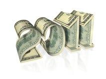 查出做的2011张钞票登记 免版税库存照片