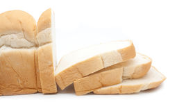 查出切的面包 库存照片
