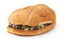 查出的三明治 免版税库存照片