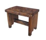 查出的古色古香的木凳子 库存图片