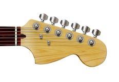 查出的吉他 免版税库存照片