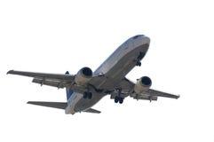 查出的喷气机着陆 库存图片