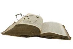 查出的圣经玻璃开张在whi 库存图片