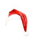查出的圣诞节帽子 库存图片