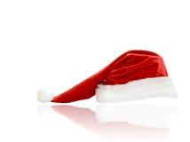 查出的圣诞节帽子 免版税图库摄影