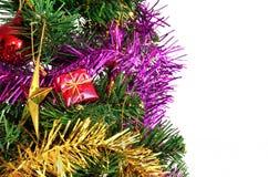 查出的圣诞节装饰   免版税图库摄影