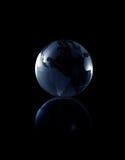 查出的地球 免版税库存图片