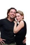 查出的夫妇 免版税图库摄影