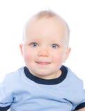 查出的婴孩逗人喜爱 图库摄影