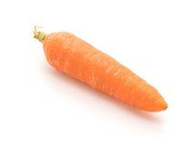 查出的嫩胡萝卜 免版税库存照片