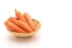 查出的嫩胡萝卜 库存图片