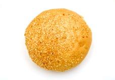 查出的小圆面包新鲜 免版税库存照片