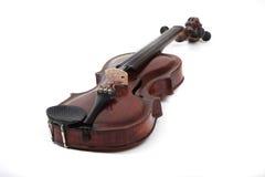 查出的小提琴 免版税库存图片