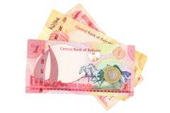 查出的巴林货币 免版税库存照片
