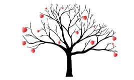查出的徽标爱对象符号结构树变形向量 库存图片