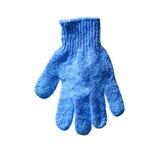 查出的手套 免版税库存照片