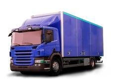 查出的拖拉机卡车 免版税库存图片