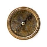 查出的指南针 免版税库存图片