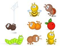 查出的昆虫 免版税图库摄影