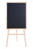 查出的木黑板 免版税库存照片
