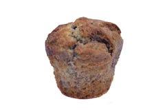 查出的松饼白色 免版税库存照片