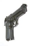 查出的枪 免版税库存照片
