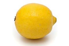 查出的柠檬 免版税库存图片