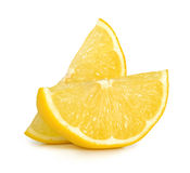 查出的柠檬 免版税库存照片