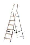 查出的梯子 免版税库存图片