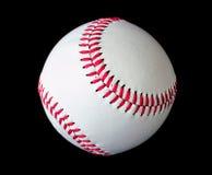查出的棒球黑色  免版税库存图片