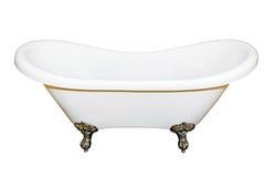 查出的浴缸 免版税图库摄影