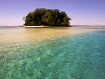 查出的海岛 库存图片