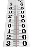 查出的温度计 库存图片