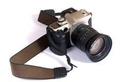 查出的照相机 免版税库存图片