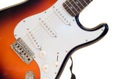 查出的电吉他 免版税图库摄影