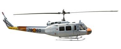 查出的直升机 库存照片