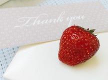 查出的看板卡礼品感谢白色您 免版税库存照片