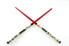 查出的筷子 免版税库存照片