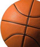 查出的篮球 免版税库存照片