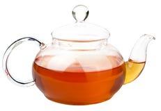 查出的罐茶 免版税库存照片