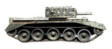 查出的老坦克 免版税图库摄影