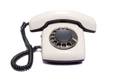 查出的老电话 库存照片