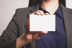 查出的背景黑色空白企业女实业家看板卡递显示诉讼白人妇女 图库摄影